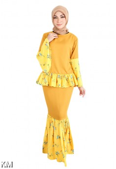 Women Elizza Puff Kurung Set [K18497]