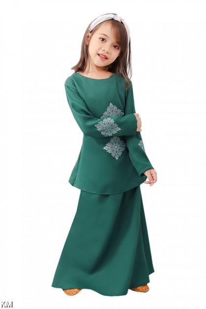 Kids Sophia Kurung Set [K1246]