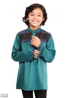Kids Afiq Executive Button Kurta [B19759]