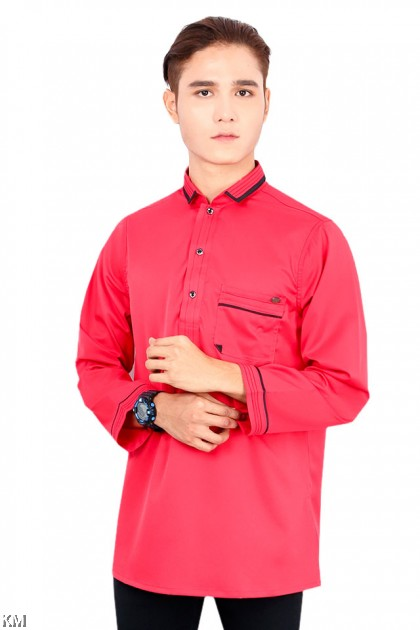 Men Khairul Smart Collar Kurta [M19765]