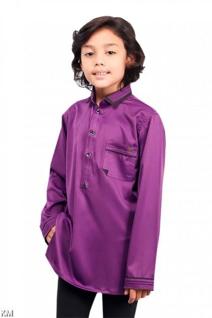 Kids Khairul Smart Collar Kurta [B19767]
