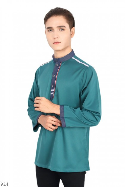 Saujana Men Button Up Kurta [M19775]