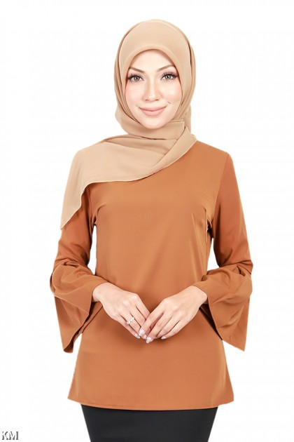 Muslimah Angel Sleeves Blouse [B18553]