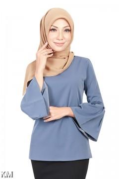 Muslimah Angel Sleeves Blouse [B18553]