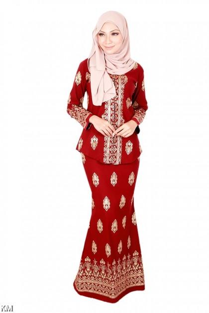 Afrin Muslimah Songket Modern Kebaya Set [K19914]