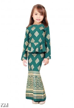 Dakota Kids Modern Peplum Kurung Set [K19912]