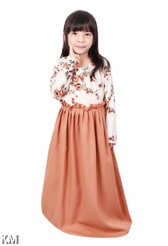 Nadia Roses Kids Jubah Dress [J18412]