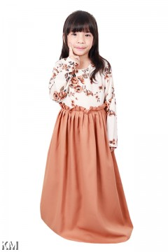 Nadia Roses Kids Jubah Dress [J18412]