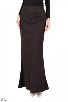 Textured Duyung Skirt [S19337]