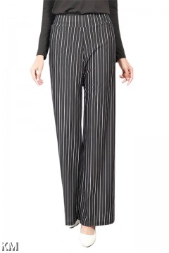Stripes Relaxed Fit Palazzo [P19320]