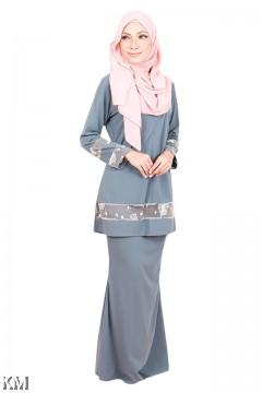 Hidayah Front Zip Baju Kurung Modern [K20809]