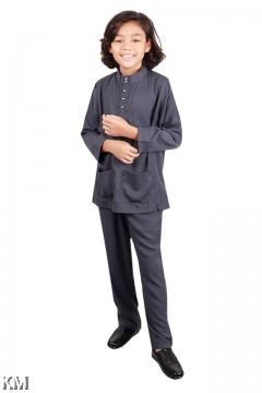 Nabil Kids Baju Melayu Cekak Musang [M21094]