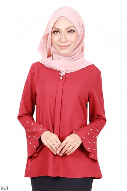 Women Fusion Beats Flare Blouse [B1270]