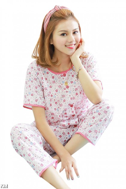 Fully Printed Night Suit Set [PJ19539]