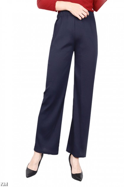 Parallel Elastic Straight Pants [P19841]