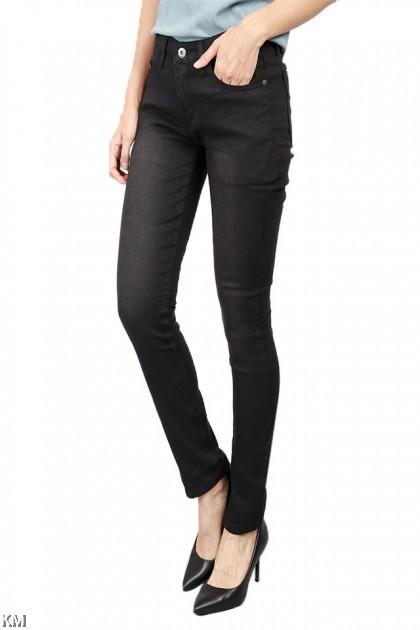 Clean Look Black Skinny Jeans [J12838]