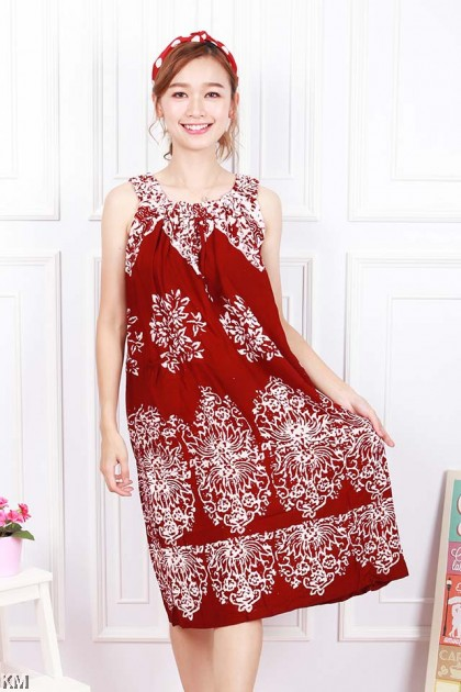 Sleeveless Kaftan Dubai Sleeping Dress [D23865]