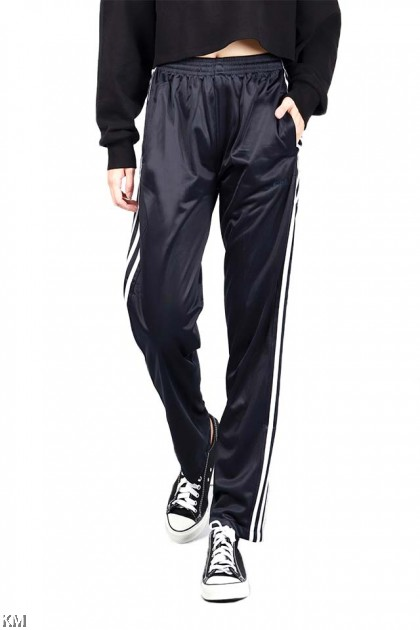 KM Sports Unisex Striped Track Pants [P16290]