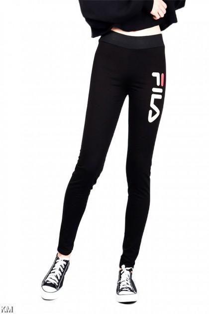 Full Length Black Webster Legging [P21119]