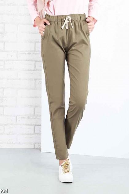 Cotton Casual Linen Trousers [P17441]