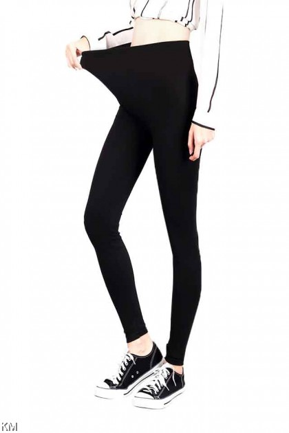 Fully Cotton Plus Size Black Legging [P248]