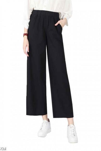 3 Designs Linen Cotton Trousers Collection [P16892]