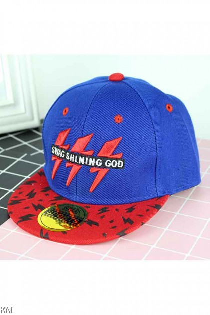 Kids Snap back Velcro Embroidery Caps [K359/K539]