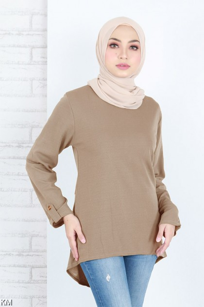 Simple N Modern Casual Solid Blouse [B20744]