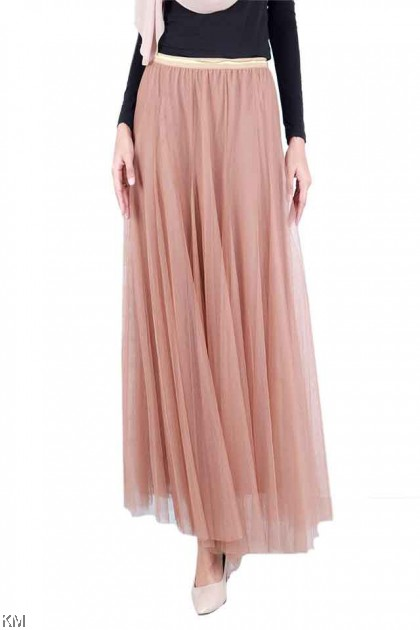 Legacy Solid Sheer Women Skirt [S21975]