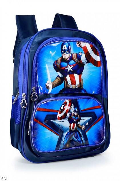 Kids Cartoon Basic School Backpack [BG22913]