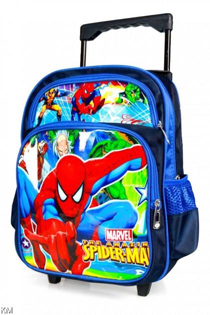 Duo-Wheel Kids Trolley School Bag [BG16066]