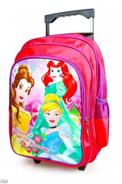 Tri-Wheel Kids Trolley School Bag [BG23945]