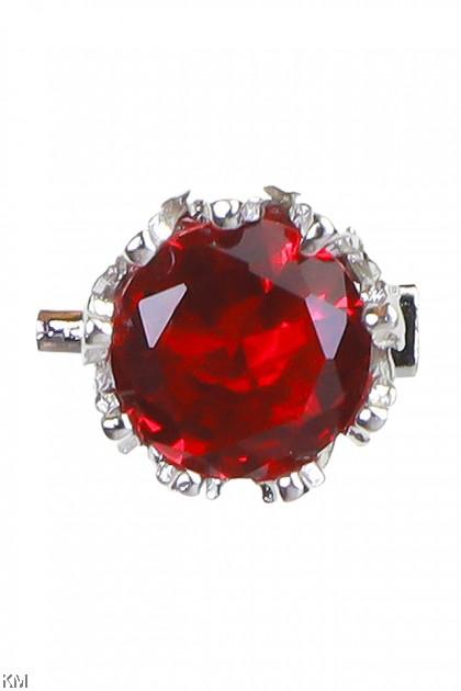Crown Jaded Baby Pin Brooch [A40]