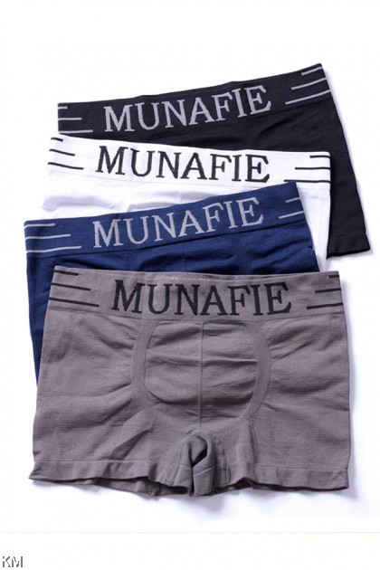Snug Fit Men Munafie Trunk Underwear [M23959]