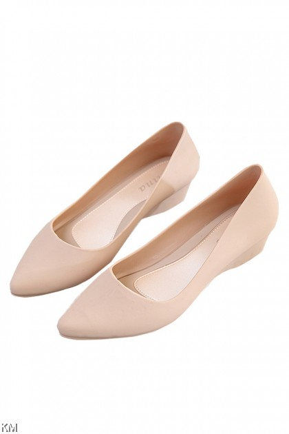 Mia Women Solid Wedges Jelly Shoe [SH25133]