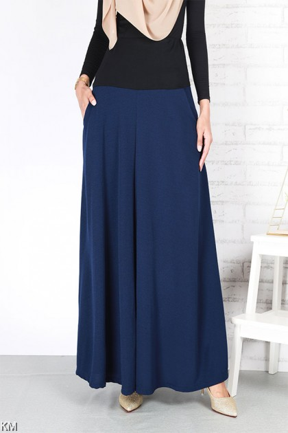 Rear High Waist Maxi Skirt [S25696]