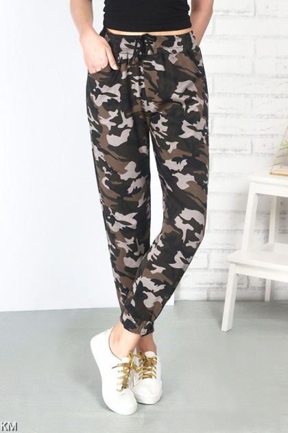 Military Camouflage Jogger Pants [P24824]