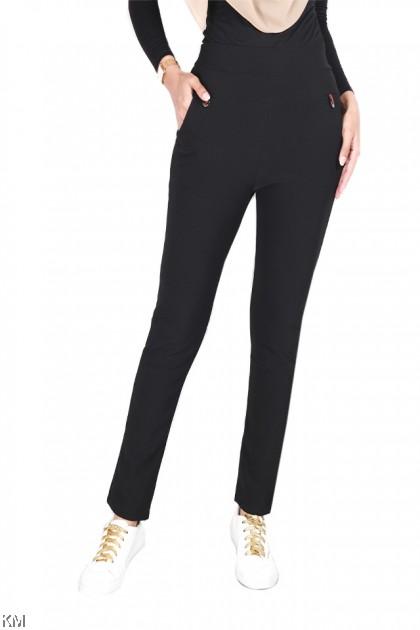Audrey Elastic Smart Casual Pants [P24910]