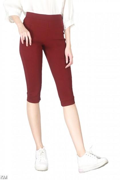 L-2XL Women Stretchable Short Pants [P25825]