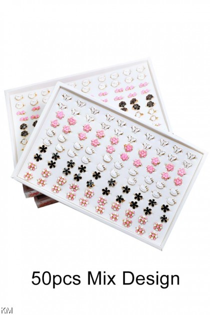 50pcs Korea Mix Baby Pin Brooch [AP50B]