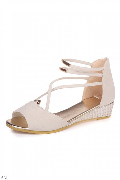 Metal X Women Wedges Sandals [SH1012]