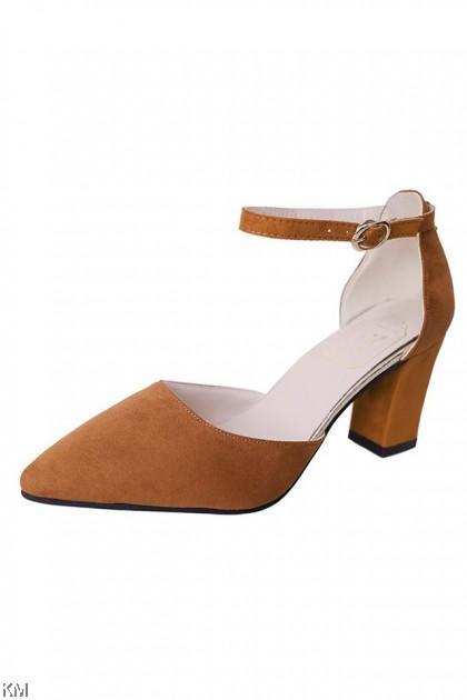 Tev Hook Pointed High Heels [SH27938]