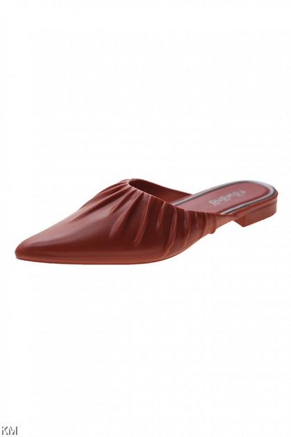 Sindeva High Heels Flat Sandal Shoes [SH29906]