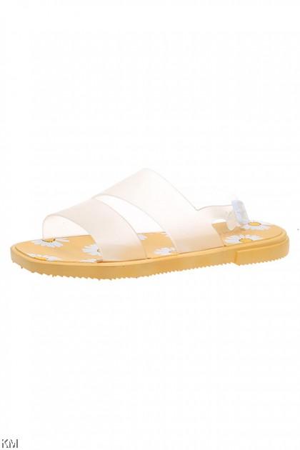 Daisiny Summer Flower Buckle Adjust Sandals Shoes [SH30189]