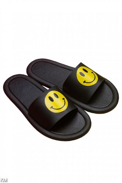 Adult Smile Face Waterproof Slippers [SH29585]