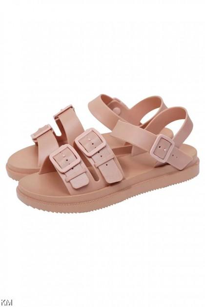 Double Clicro Buckle Sandals [SH29531]