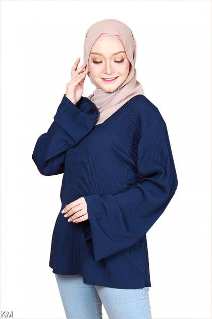Fariah Plus Size Muslimah Blouse [B29254]
