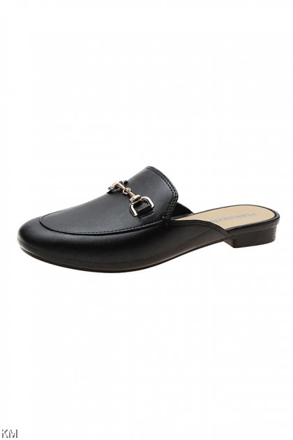 Slip On Flat Mules Loafer [SH30604]