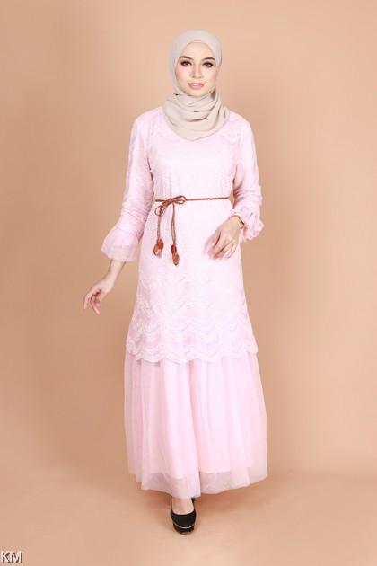 Adaral Lace Jubah Dress [J29994]