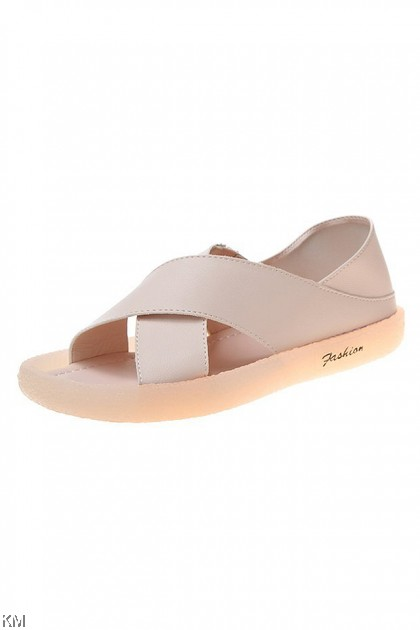Sora 2 Ways Cross Flat Sandals [SH31403]